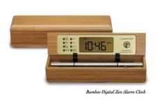 Bamboo Zen Chime Clocks & Timers