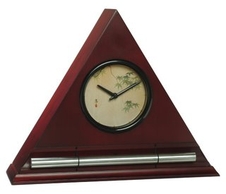 Japanese Leaves Dial Face in Burgundy Finish by Now & Zen