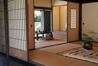 Japanese Interior Living Space