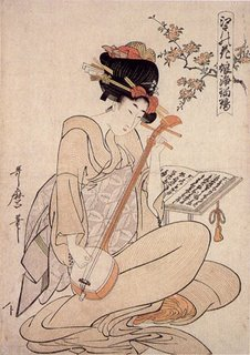 Kitagawa Utamaro Cherry Blossom Flowers of Edo, Now & Zen