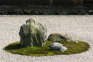 Ryoanji Zen Garden, Kyoto, Japan