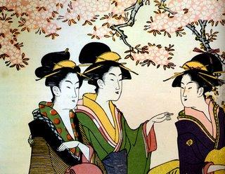 Hanaogi Chokosai Eisho, Now & Zen Ukiyo-e