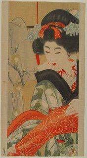 Ukiyo-e Madame Print