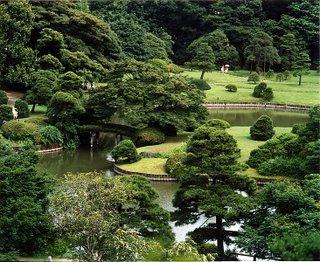 A kaiyu-shiki or strolling garden