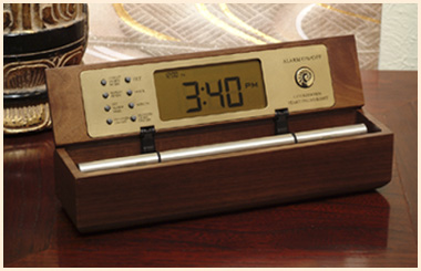 Digital Zen Alarm Clock, a perfect tea timer