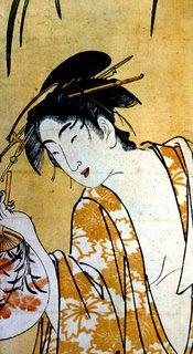 Iris Bath by Utagawa Toyohara, Ukiyo-e Print