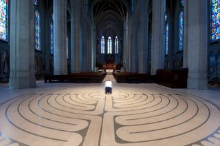 Spiritual Journey Through a Labyrinth