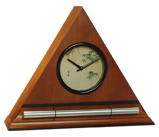 Honey Japanese Maple Leaves Zen Alarm Clock, chime alarm clocks and natural sounding timers