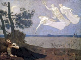 Pierre-Cécile Puvis de Chavannes: The Dream, 1883