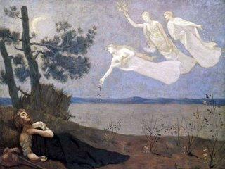 Pierre-Cécile Puvis de Chavannes: The Dream, 1883