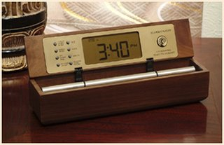 Walnut Wood Zen Timers with Chime, a perfect tea timer.