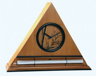 Bamboo Zen Alarm Clock with Chime
