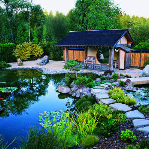 Cottages cabin cabin house meditation gardens cottages for Japanese meditation garden design