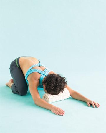 yoga, sooth frazzled nervse pose