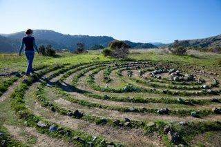 Labyrinth, meditative walking