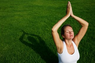 yoga pose - water exercise