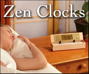 Chime Alarm Clocks - The Digital Zen Alarm Clock