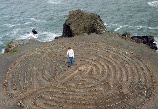 labyrinth by the sea
