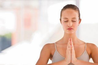 yoga helps to slow us down