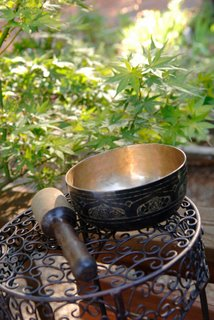 Tibetan Singing Bowls are used as acoustic instruments in Zen Alarm Clocks