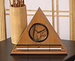 Bamboo Zen Clock