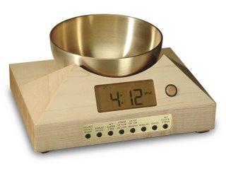Tibetan Bowl Clock and Timer