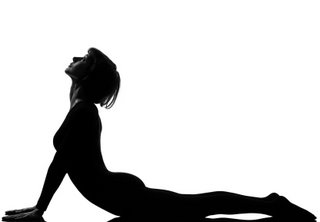 woman sun salutation yoga surya namaskar pose