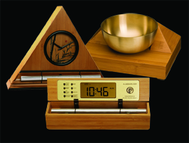 Bamboo Meditation Timer with Elegant, Soothing Chimes