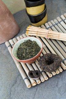making medicinal teas