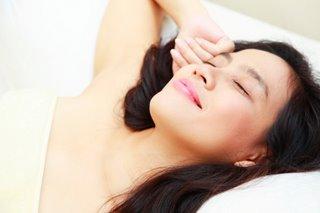 get enough sleep!
