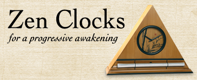Zen Alarm Clocks and Meditation & Yoga Timers with Acoustic Sounds
