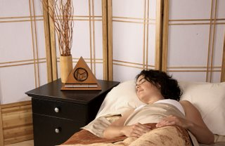 The Zen Alarm Clock's sweet acoustic chimes are truly a gourmet experience