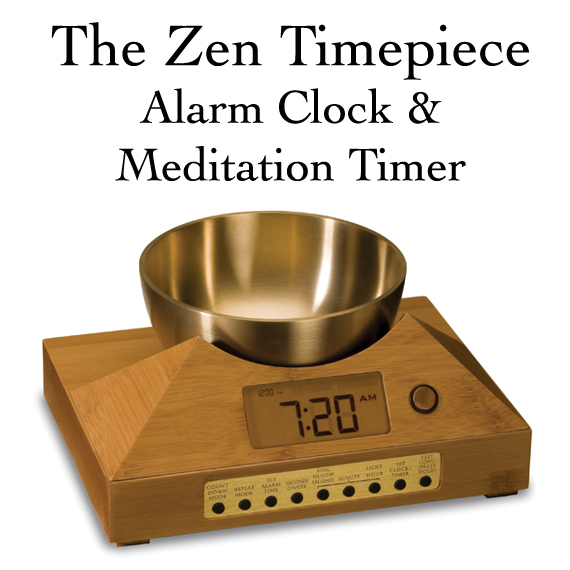 Mindfulness Meditation Timer and Alarm Clock with Gong