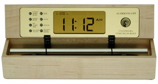 chime on the hour clock with real acoustic chimes
