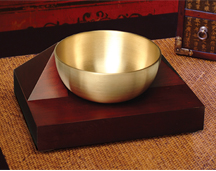 The Natural Sounds Singing Bowl Alarm Clock from Now & Zen, Inc.