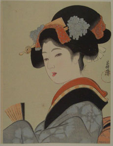 Scientific Evidence for Beauty Sleep - Elegant Women. Courtesy of the Japan Ukiyo-e Museum